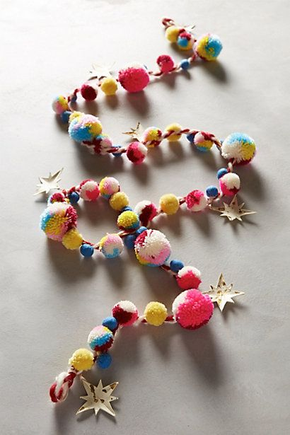 Wishing star garland - lovely for a kid's room too!