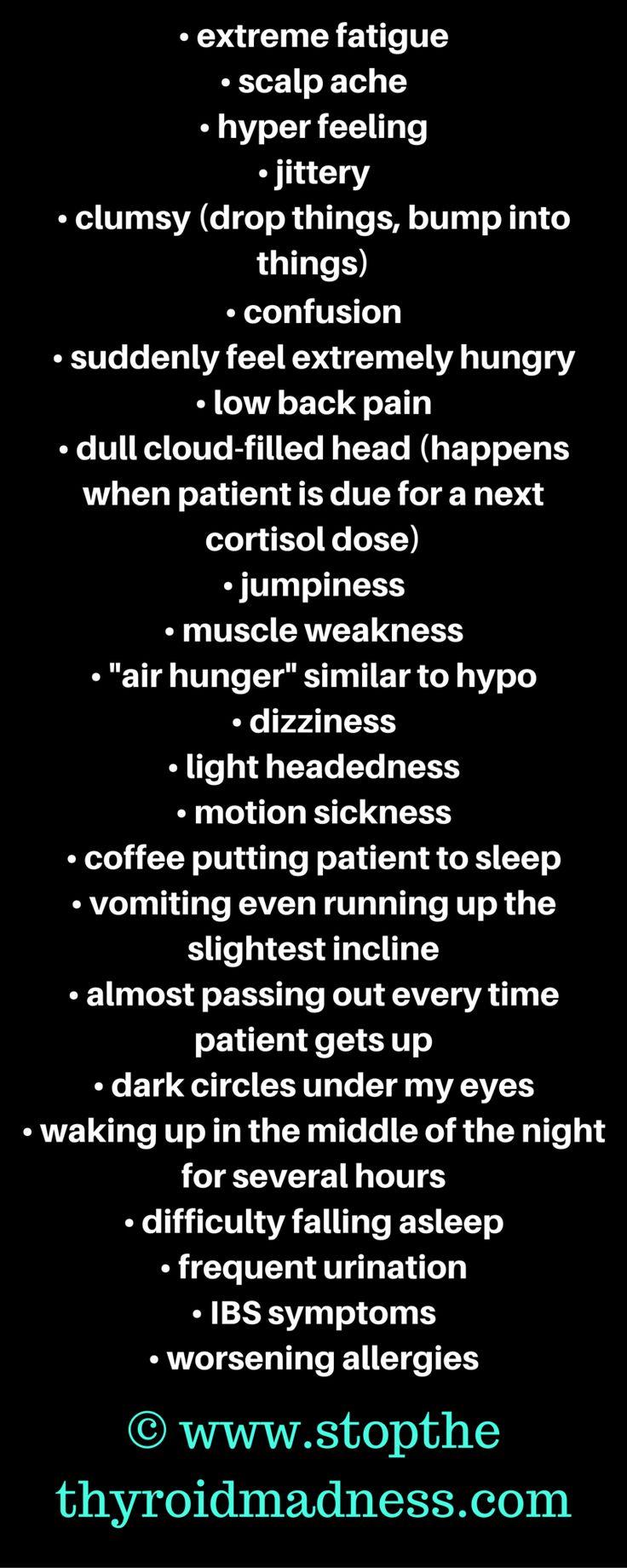 STTM graphic Adrenal symptoms part two BLACK BACKGROUND