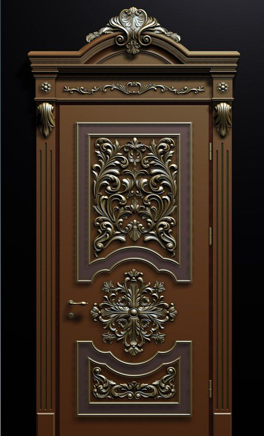 Tdk tehnodrev carved doors for Decorative main door designs