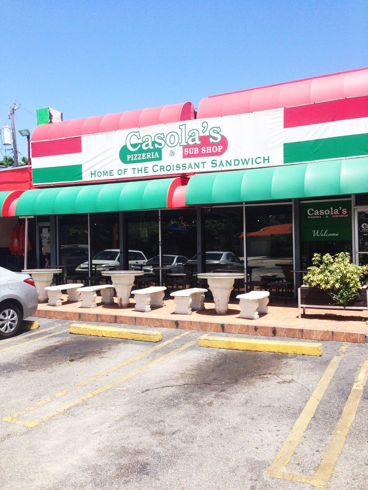 In honor of National Pizza Month 3 Best Bets for Pizza in Miami Casola's Pizzeria and Subs  #nationalpizzamonth #pizza #miami