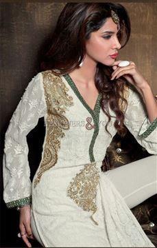Pakistani boutique style ladies suit design salwar kameez for festivities