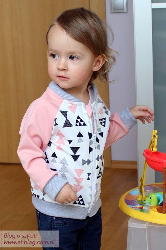 Jak uszyć bluzę rozpinaną dla dziecka - tutorial - szycie krok po kroku