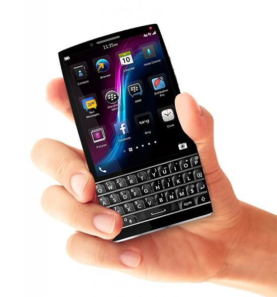 BlackBerry Q40 Concept Design Sporting Physical QWERTY ...