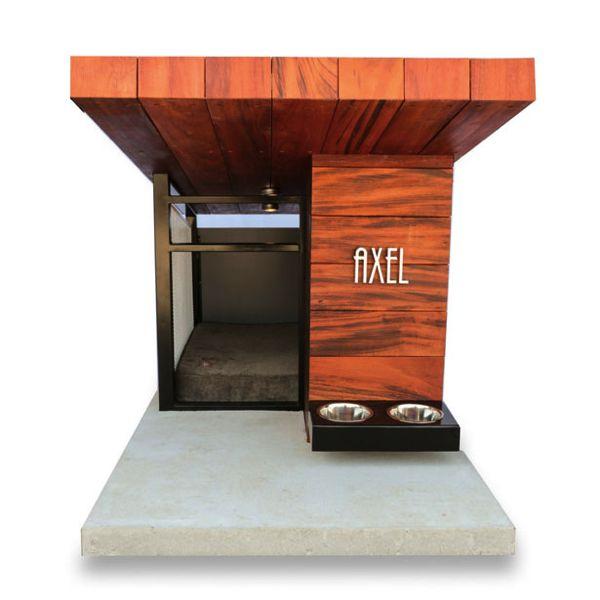 """もはや犬小屋ではない!モダン過ぎるデザイナーズドッグハウス。ロサンゼルスのデザインスタジオ """"RAH:Design""""によるオシャレ過ぎるドッグハウス """"MDK9-Haus""""。 愛犬家の創業者が、自身の愛..."""