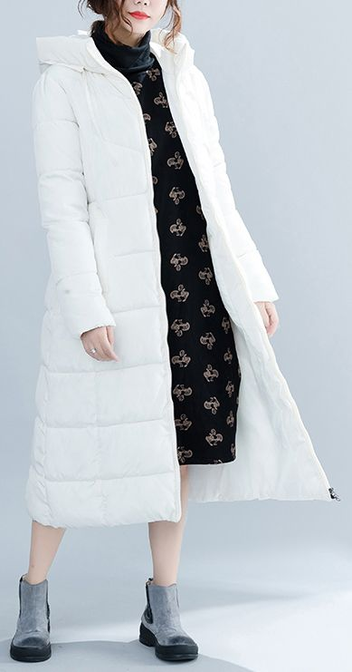 bd4375152a8 women-white-trendy-plus-size-hooded-cotton-coat-Elegant-pockets-zippered -winter-cotton-coats