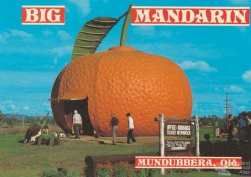 BIG MANDARIN AT MUNDUBBERA