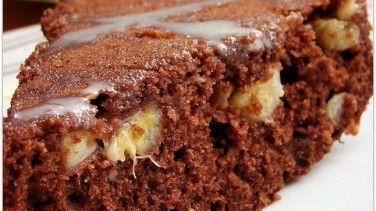 Çikolatalı muzlu kek tarifi