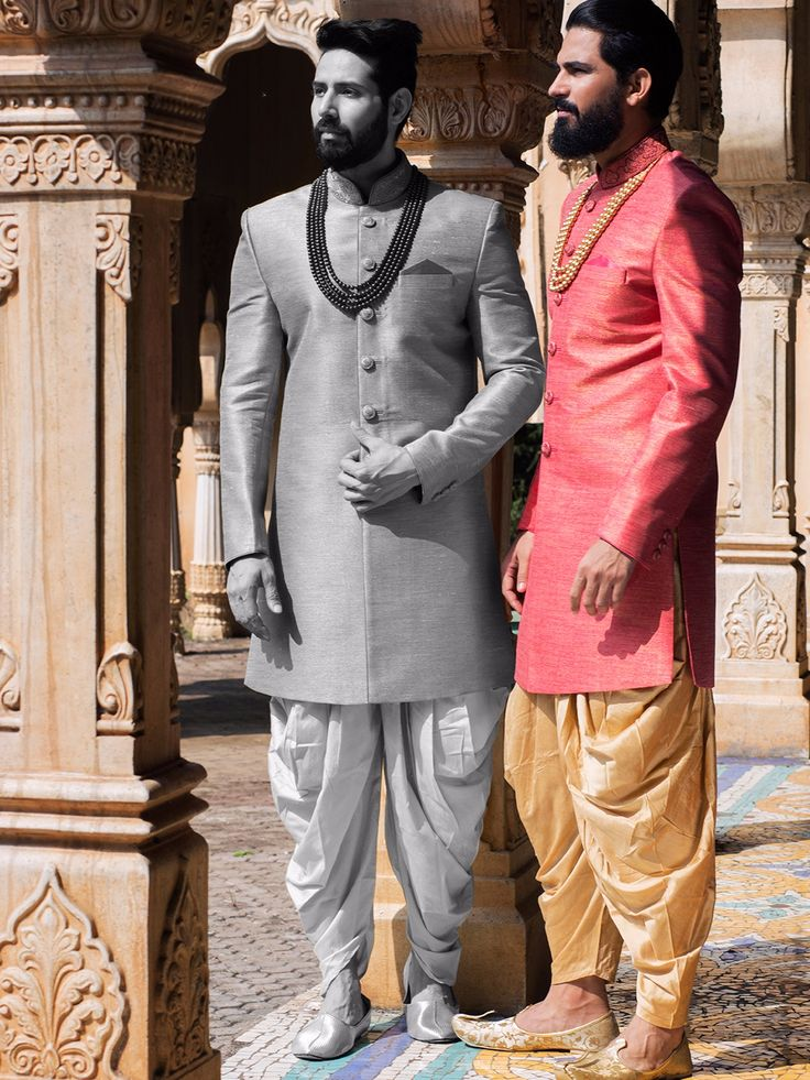 Shop Pink raw silk wedding indo western online from G3fashion India. Brand - G3, Product code - G3-MIW3006, Price - 11395, Color - Pink, Fabric - Raw Silk,