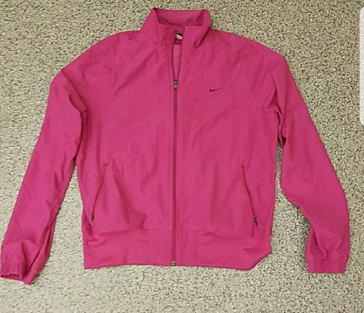 Nike Womens Windbreaker Jacket XL Pink #Nike #Windbreaker