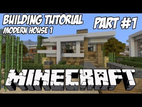 http://minecraftstream.com/minecraft-tutorials/minecraft-tutorial-hd-modern-house-1-part-1/ - Minecraft Tutorial HD: Modern House 1 - Part 1  Minecraft Modern House 1 Tutorial Part 1. The schematic for this house will be live at http://www.keralis.net once it is completed.  Hope you enjoy it, please like, comment or subscribe. 🙂 Texture Pack: Misa HD/Realistic 64×64 + Water Shader...