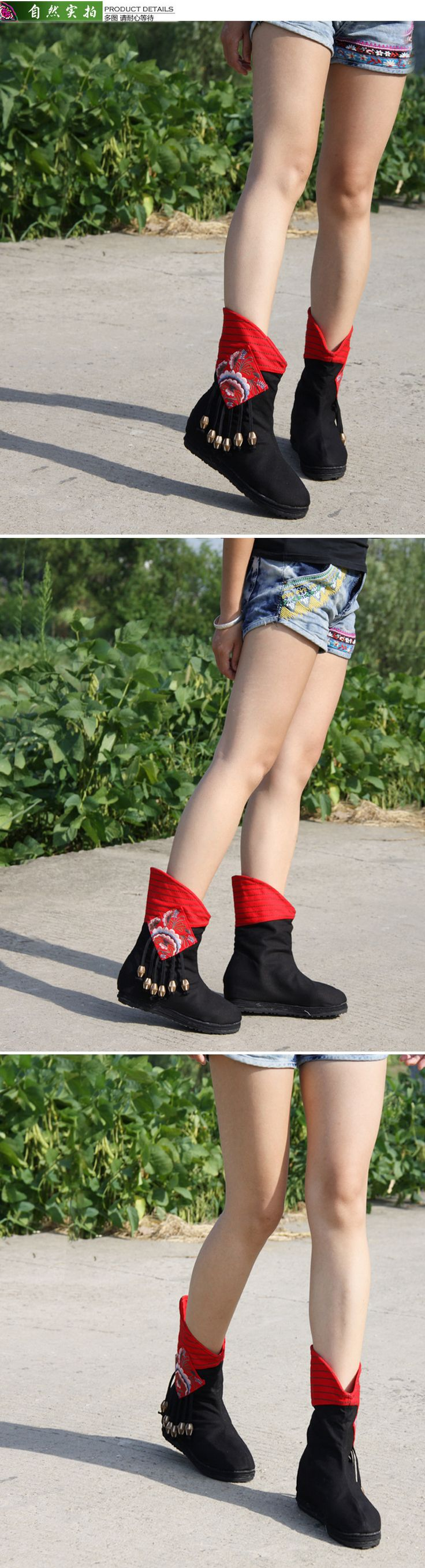 Plate forme Fringe Bottes Femmes Automne Hiver Vintage Bottes Slip on Chaussures Toile Chaussures Appartements Occasionnels Chaussures dans Femmes de Bottes de Chaussures sur AliExpress.com   Alibaba Group