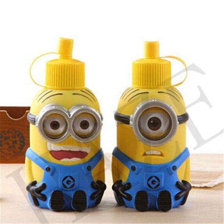 Despicable Me 600Ml Minion Stainless Steel Drink Cup Bottle Mug Wholesale