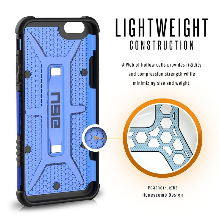 UAG iPhone 6 Plus / iPhone 6S Plus Feather-Light Composite [COBALT] Military Drop Tested iPhone