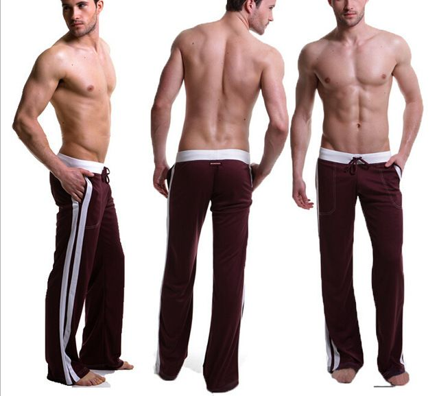 Buy now Men Pants Brand Elastic cotton New Male Fitness Workout Pants Sweatpants Trousers Jogger Pants Casual just only $11.98 with free shipping worldwide  #pantsformen Plese click on picture to see our special price for you