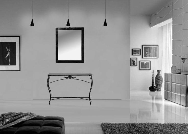 99€ -Conjunto mueble recibidor barato de forja. 70% de descuento. Liquidación total hasta fin de existencias. Envío inmediato. Impuestos y portes incluidos.