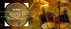 Learn Drums Online: The 10 Best YouTube Drum Lessons http://takelessons.com/blog/you-tube-drum-lessons-z07?utm_source=social&utm_medium=blog&utm_campaign=pinterest
