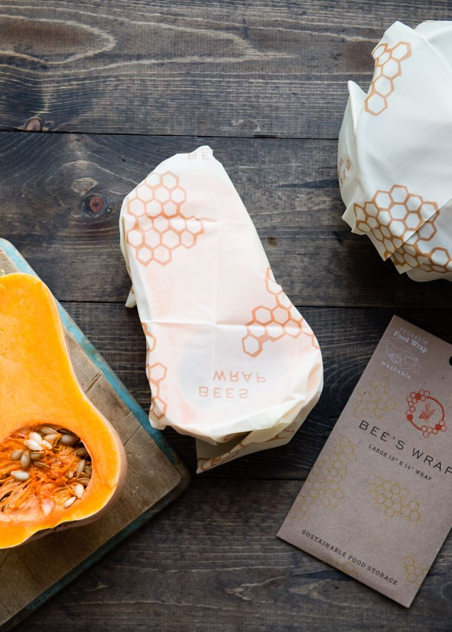 Ditch Plastic For Good With This All-Natural Food Wrap from @MightyNest | http://helloglow.co/mighty-fix-bees-wrap/