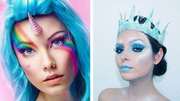 45 maquillages d'Halloween qui feront de vous la reine de la soirée