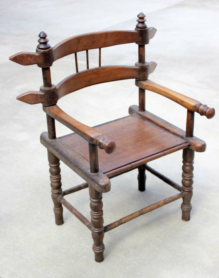 Chair From The Ivory Coast Of West Africa Image 2