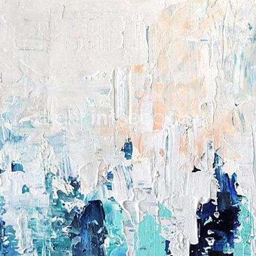 iarts®oil malt abstrakte Littlewoods mit gestreckten Rahmen handbemalte Leinwand 2015 – €57.81