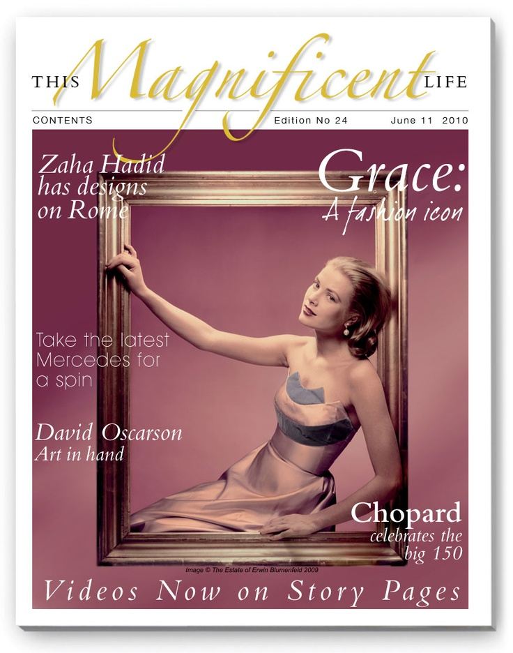 Grace Kelly when she was simply Hollywood royalty and not Her Serene Highness Princess Grace of Monaco. (ThisMagnificentLife issue 24).