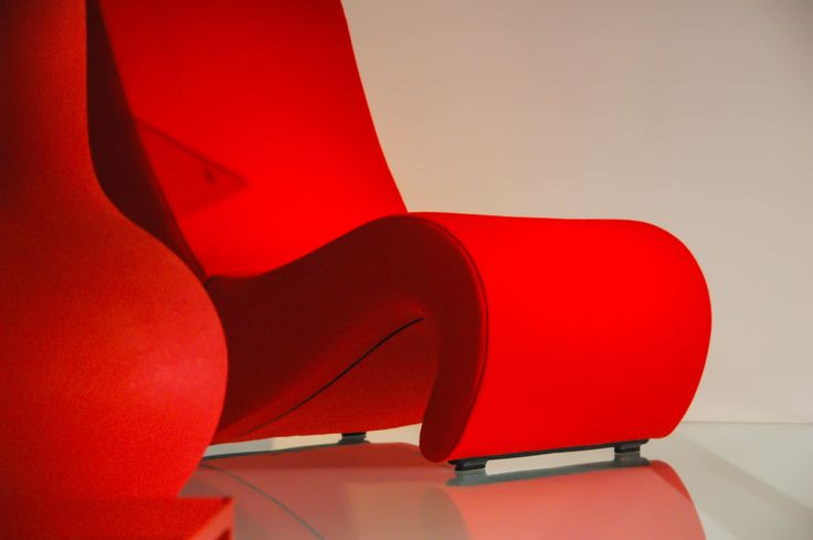 #red #armchair