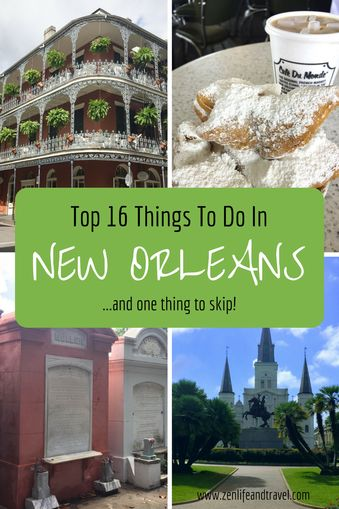 New Orelans is a vibrant city! I'll show you my top 16 things to do including where to eat. I'll also tell you about one thing I don't recommend. Top 16 Things To Do In New Orleans, LA (USA)   NOLA