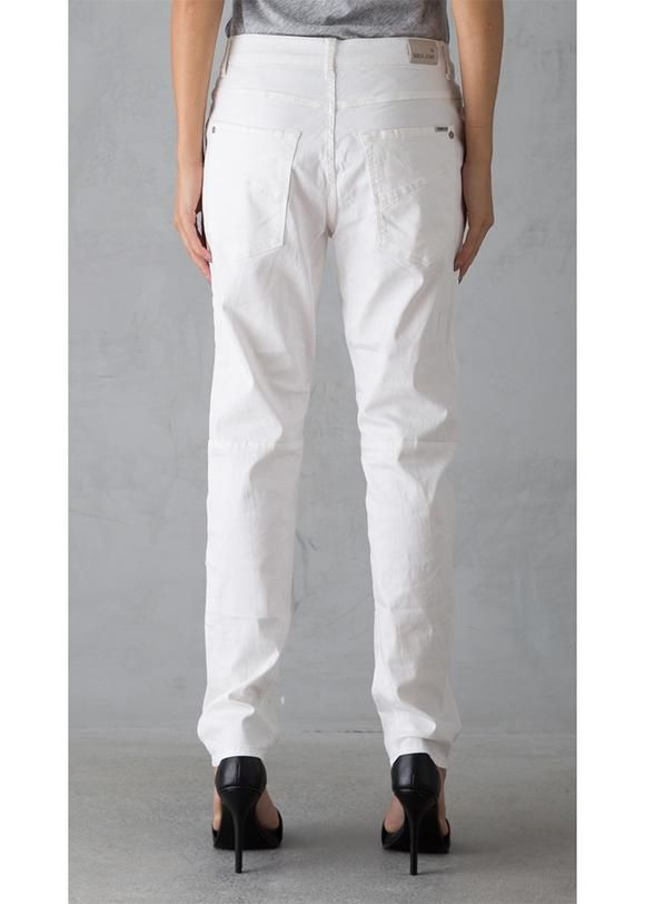 Jeans hvide C70115 Luisa Ladies Pants L30 - 53 off white