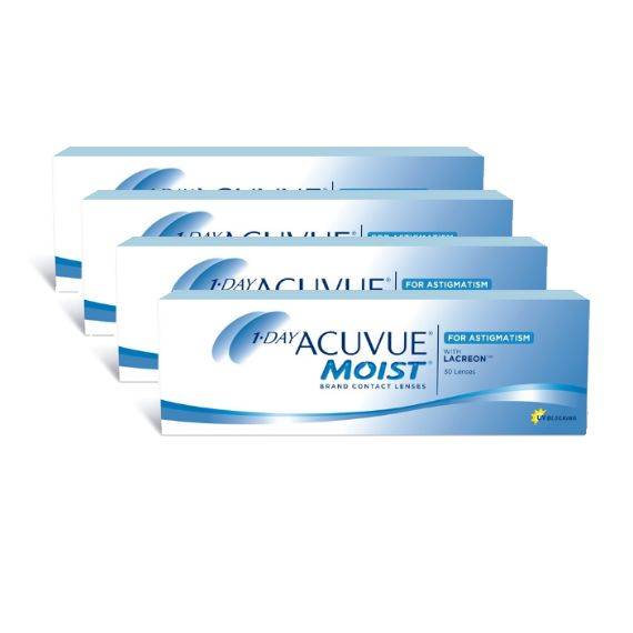 1-Day Acuvue Moist for Astigmatism Πακέτο 4 Κουτιών http://www.alfalens.gr/product/265/acuvue-moist-astigmatism-paketo-koytiwn.html