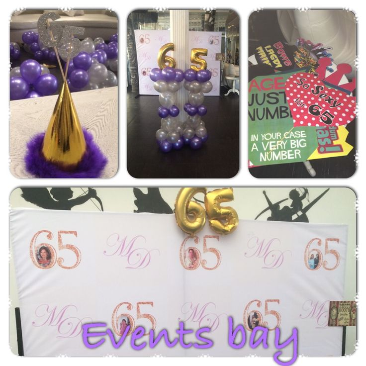 #eventsbay# 65th bday party tea party
