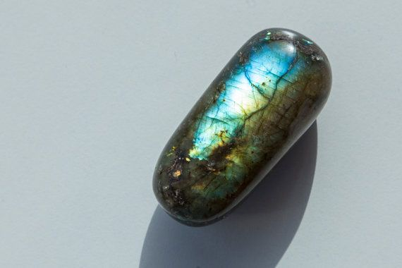 Labradorite Stone Today's Luck Gift Flashy by TherapyStonesOne