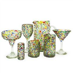 Confetti Recycled Glassware Collection
