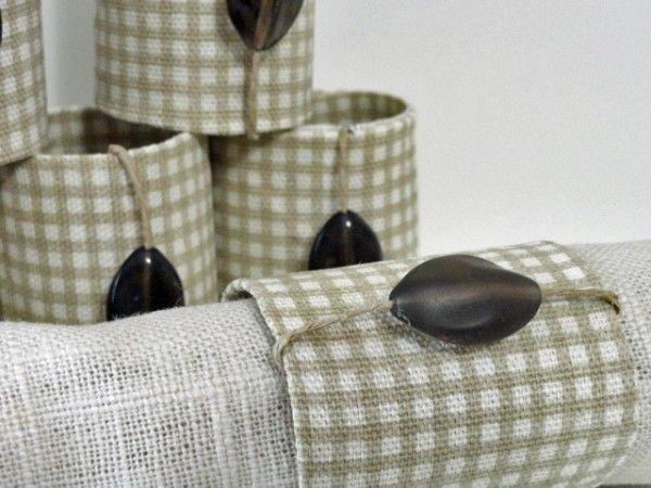 Napkin rings2 from toilet paper rolls craftiness pinterest toiletten papier und - Toiletten versieren ...