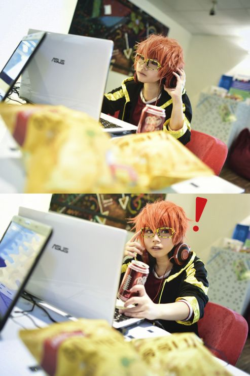 707 mystic messenger cosplay  CN: Shuki