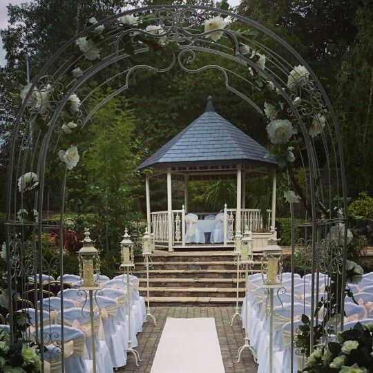 Getting married outside