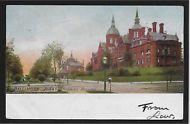 Johns Hopkins Hospital Baltimore Maryland MD 1906 postcard
