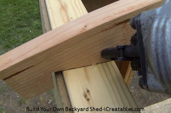 How To Build A Shed Roof | icreatables.