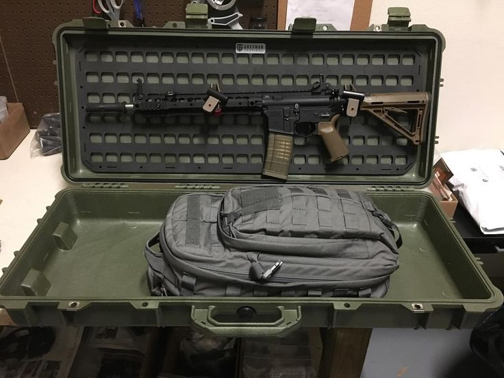 Just got done with a one week adhesion test. Used 3M Dual lock adhesive backed fasteners but the key was to use 3M Primer 94 to prime the surface before sticking the Dual lock down. It held my AR with the lid shut and the full weight of the rifle hanging for over a week straight no signs of loss of adhesion at all. I slammed the lid with the rifle on it as well didn't break anything loose. I think it's ok there pretty good! What can you see storing on the lid of your Pelican 1700 1720 or…