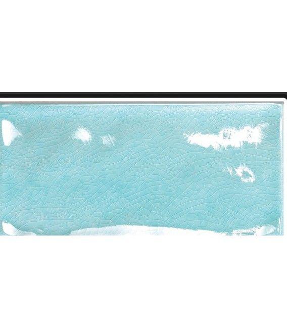 54 € mq  Piastrella/tavella per rivestimenti in ceramica colore azzurro chiaro, serie Kraklè, marca Tonalite. Prodotto made in Italy.