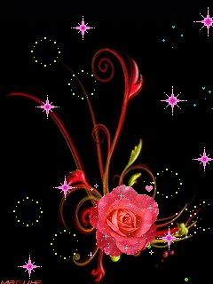 Romancing the Rose GIF... By Artist Unknown... @;} ~