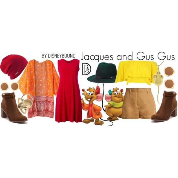 Disney Bound: Jacques and Gus Gus from Disney's Cinderella (Couple Outfits)
