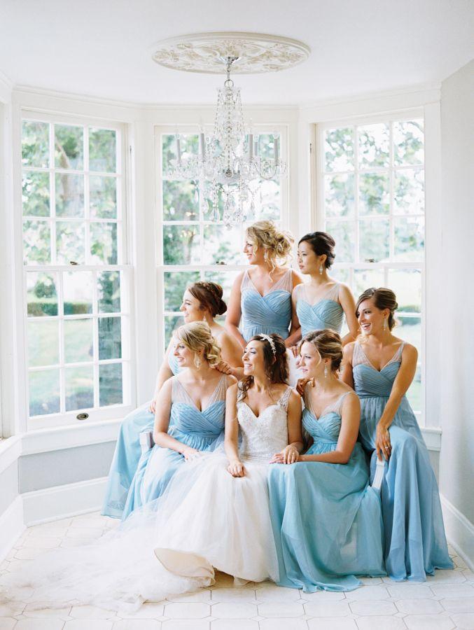 1000 Ideas About Pale Blue Bridesmaid Dresses On Pinterest Light Blue Brid