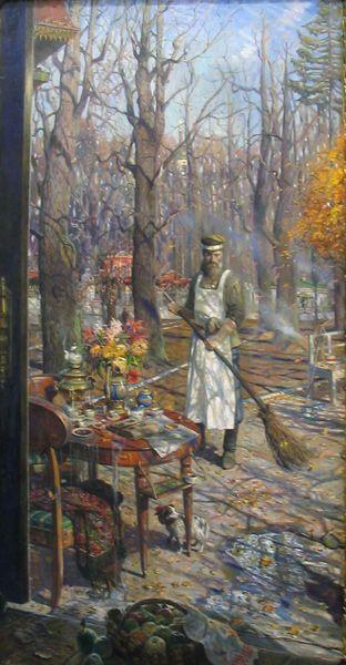 Павел Рыженко.  Дворник. 2005г.