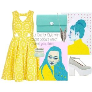 Cut Out for Style with bright colours which makes you shine!