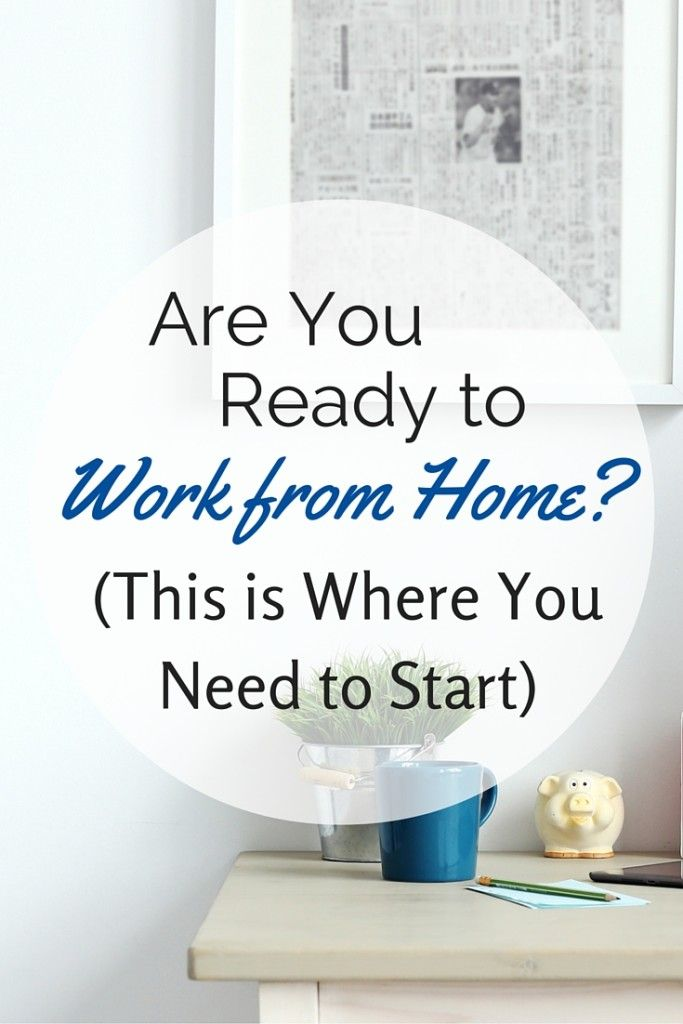 Quit Your Job To Work From Home Start Here