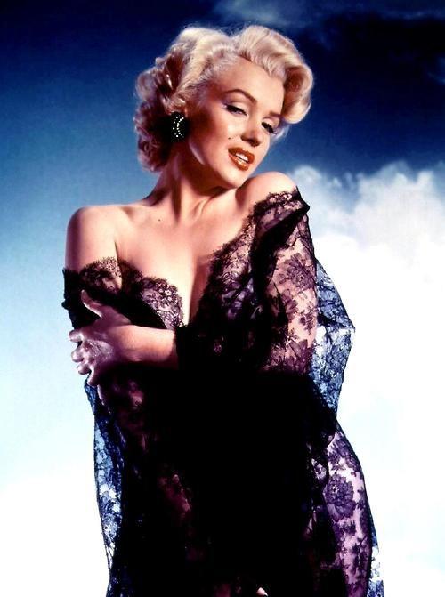 marilyn monroe ernest bachrach 1953 colour vintage hollywood classic: