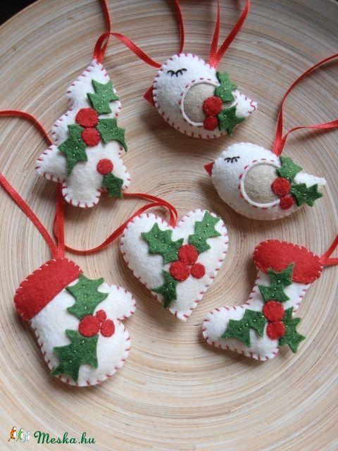 Karácsonyi dekoráció, Dekoráció, Karácsonyi, adventi apróságok, Otthon, lakberendezés, Karácsonyi dekoráció, Meska