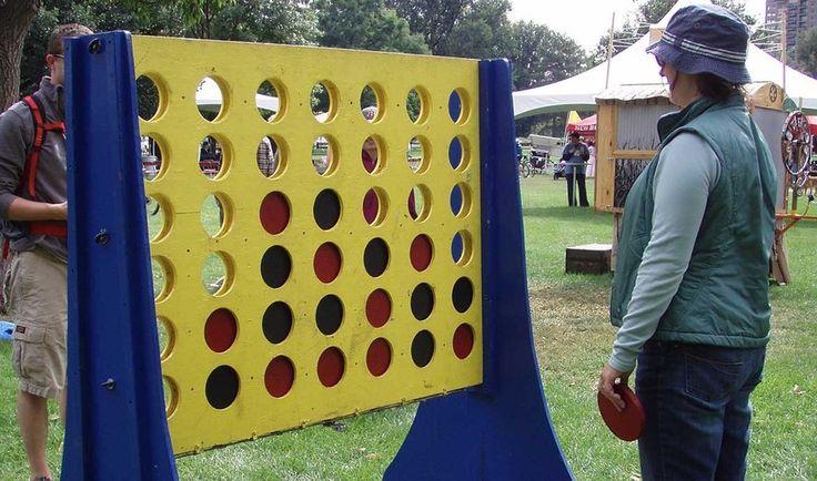 DIY : Fabriquer un jeu en bois géant
