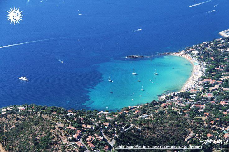 #vueaerienne #plage #saintclair #lavandou #lelavandou #merturquoise #provence #var