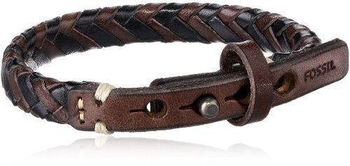 Fossil-Mens-Braided-Bracelet-0 http://jewelryshoppro.com/product-category/mens-bracelets/